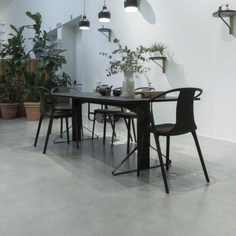 beton u dizajnu interijera - betonski pod