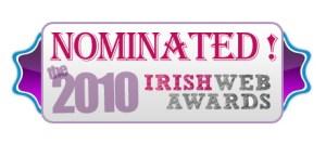 Irish Web Awards 2010 Nominee