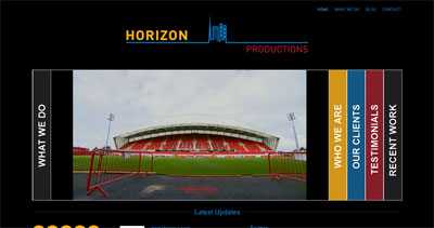 Horizon Productions web site now live