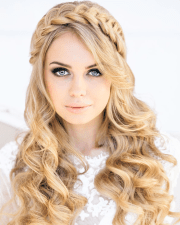wedding hairstyle ideas long