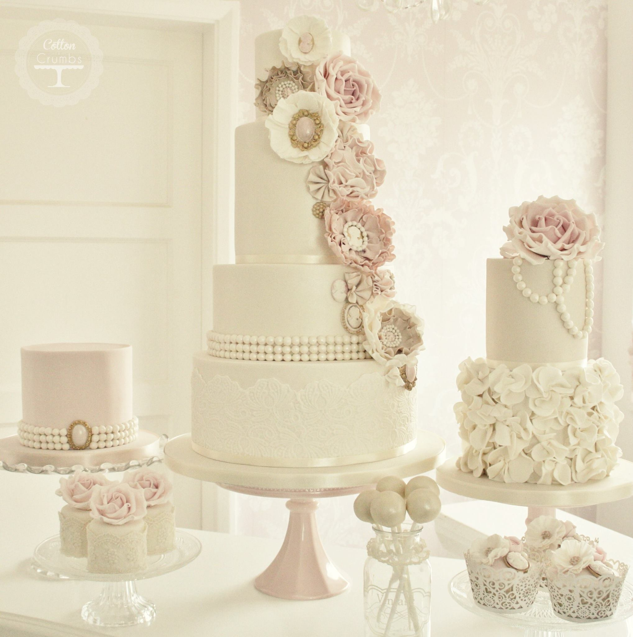 Wedding Cakes With Exceptional Details