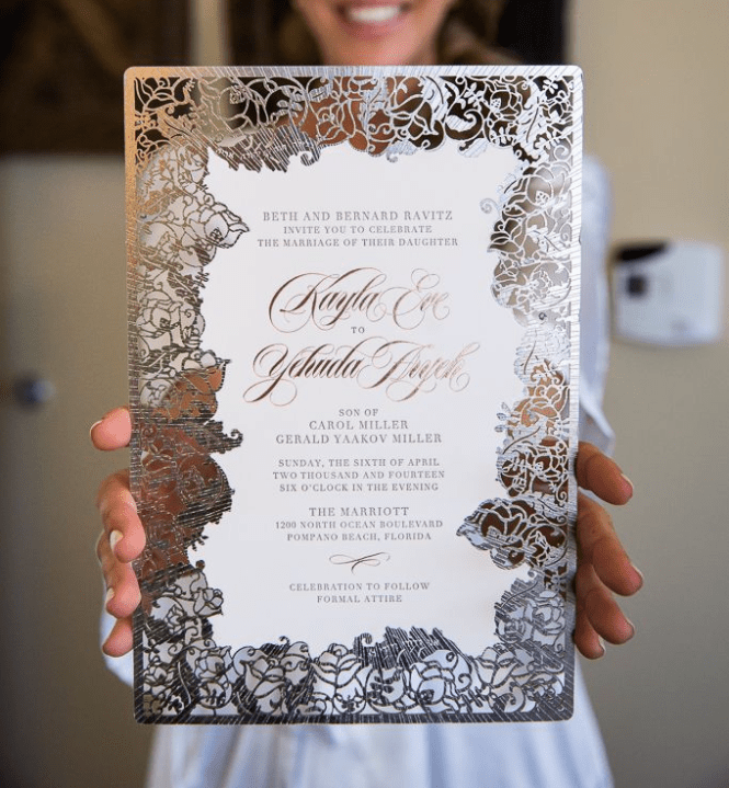 Luxury Invitation Sets Give Your Wedding Guests All The Details And Send Them A Luxurious Along With Matching Rsvp Cards Any Other Detail