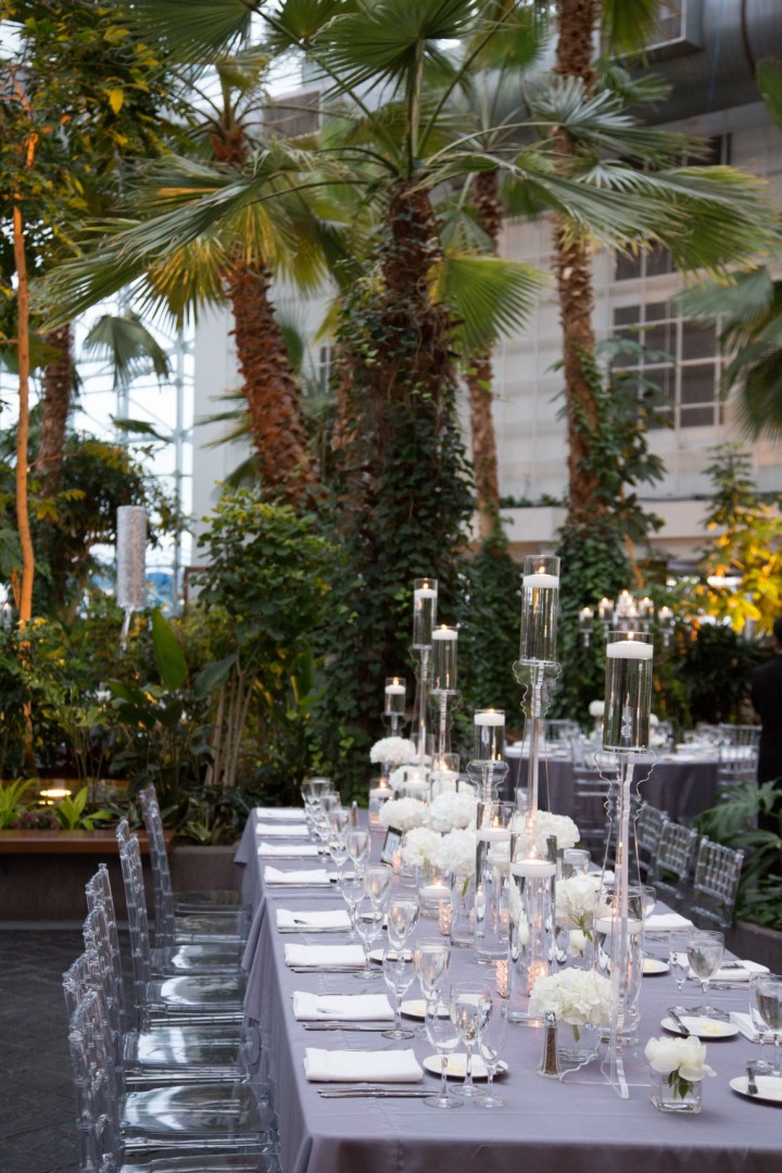 Crystal And Silver Themed Chicago Wedding At The Navy Pier