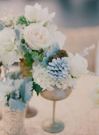 Color Inspiration: Slate and Dusty Blue Wedding Ideas