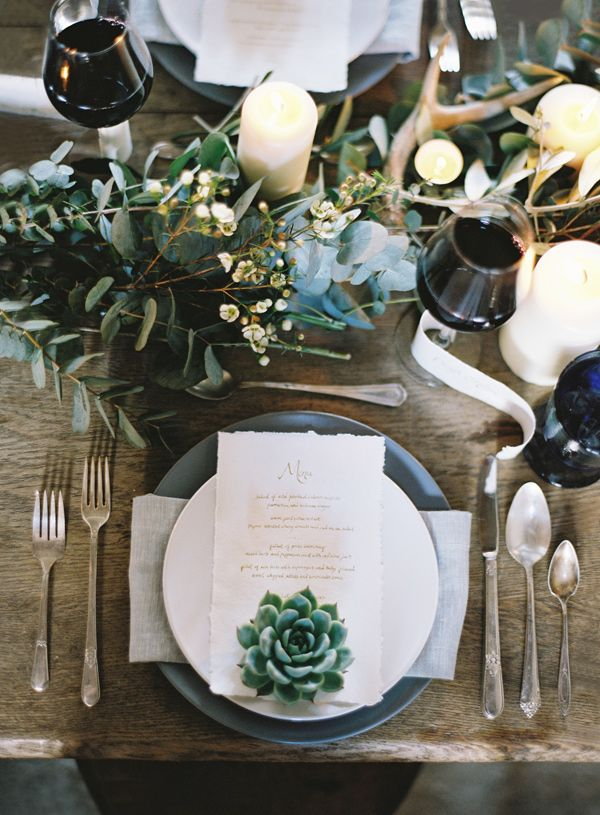 20 Impressive Wedding Table Setting Ideas
