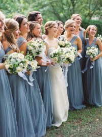 Charming Georgia Wedding With Romantic Dusty Blue Details