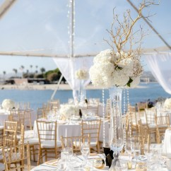 Beautiful Chair Covers For Weddings Restoration Hardware Dining Room Chairs San Diego Wedding: Regal Elegance Meets Coastal Chic