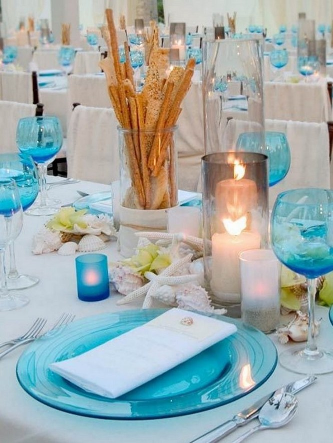 Ideas Reception Glamorous 15 Beach Wedding Themes Decorations On With Weddings Beaches And Centerpieces Pinterest 14