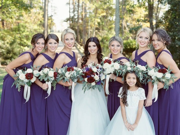 Love The Valentines Colors In This Virginia Wedding