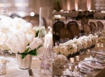 White Fairytale California Wedding Overlooking the West ...