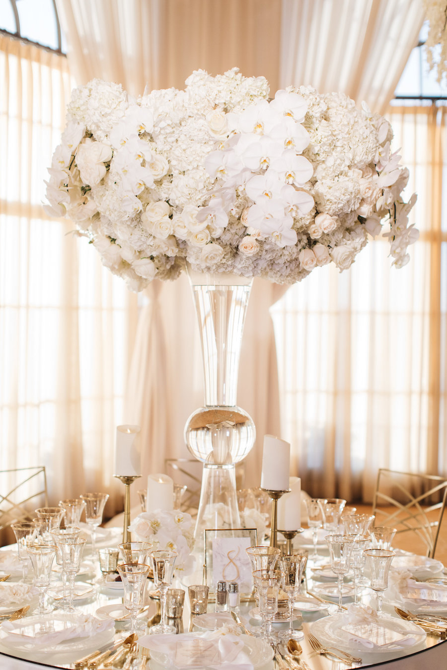 Glamorous White California Wedding At The Resort At