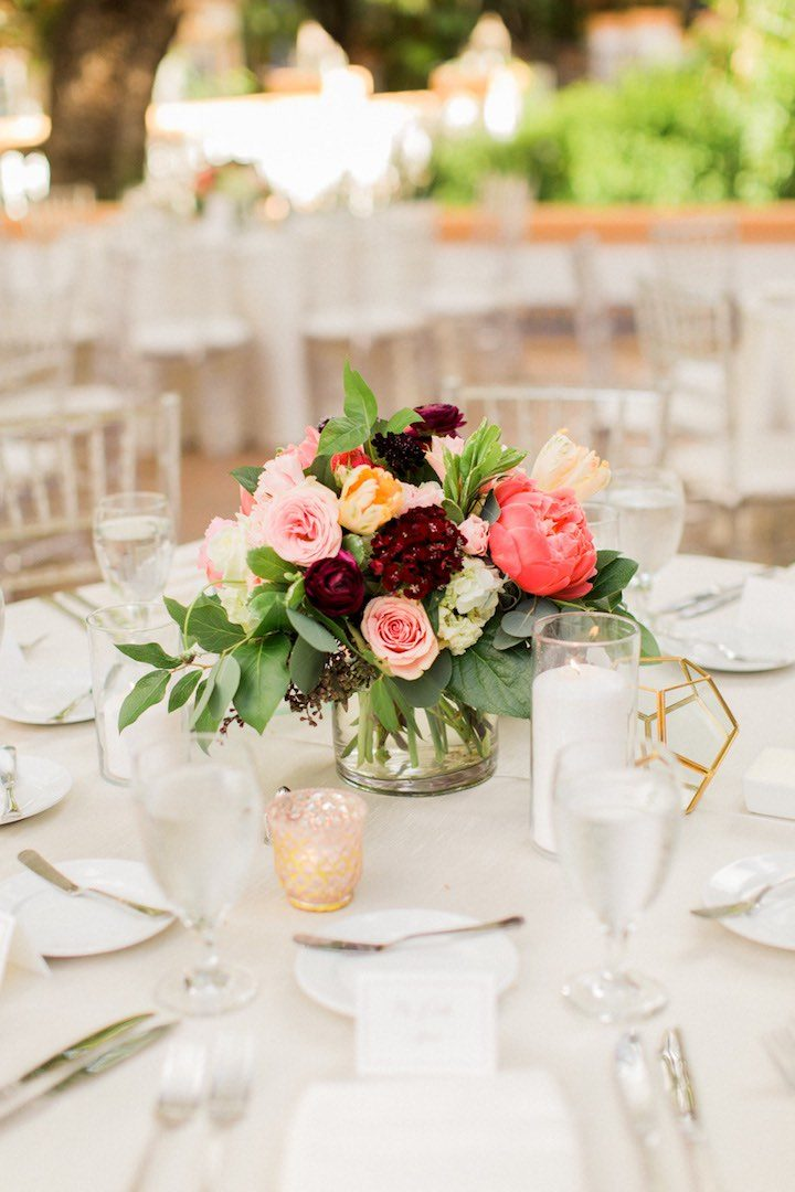 Vibrant Colors Illuminate California Wedding  MODwedding