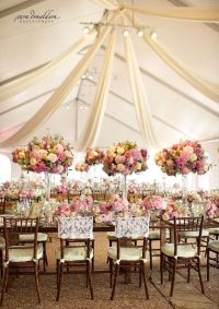 Tent Weddings and Drapes with Luxe Style - MODwedding