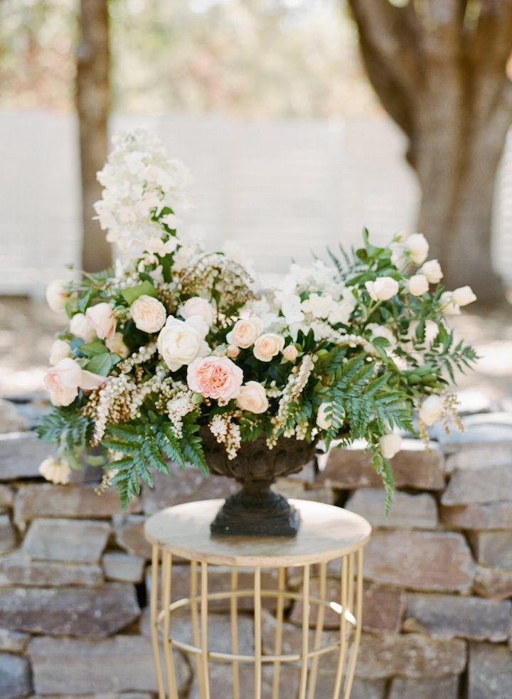 Romantic Floral Chic Napa Valley Wedding  MODwedding