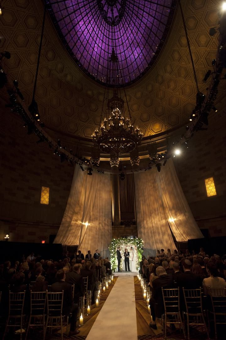 New York City Wedding at Gotham Hall  MODwedding