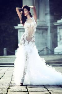 Sexy Wedding Dresses with Hottest Details - MODwedding