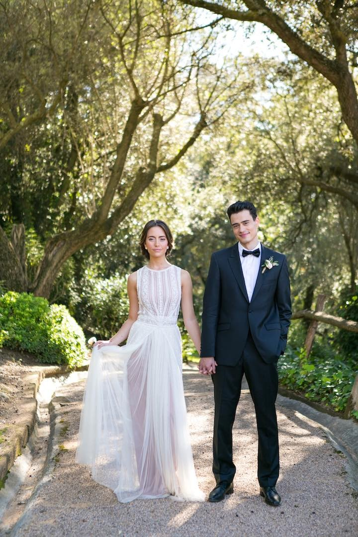 Spanish Wedding Rustic Mediterranean Blush Inspiration  MODwedding