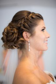 wedding hairstyle with adorable