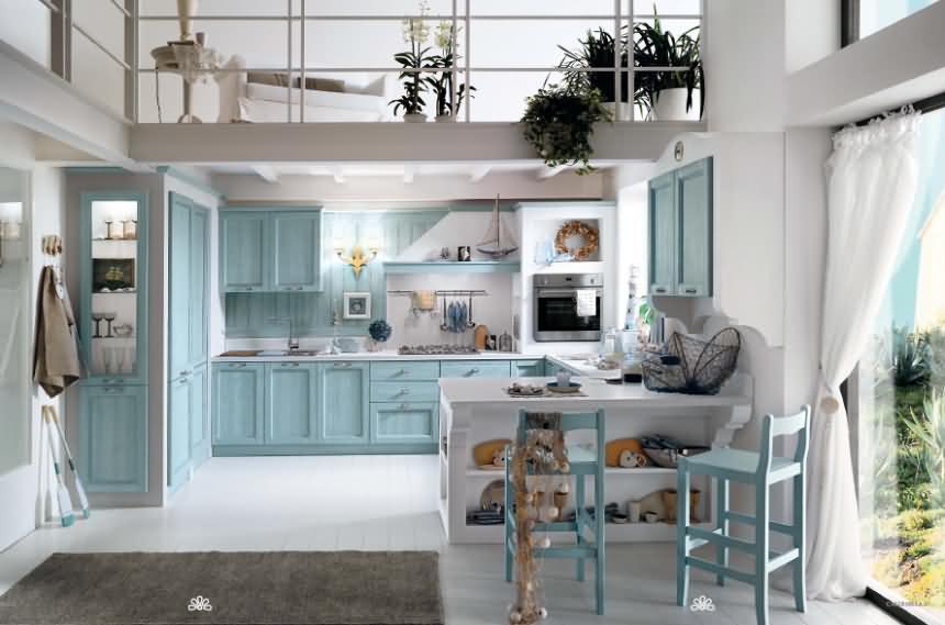 Massivholzkche Kiefer Fichte Landhaus Modern