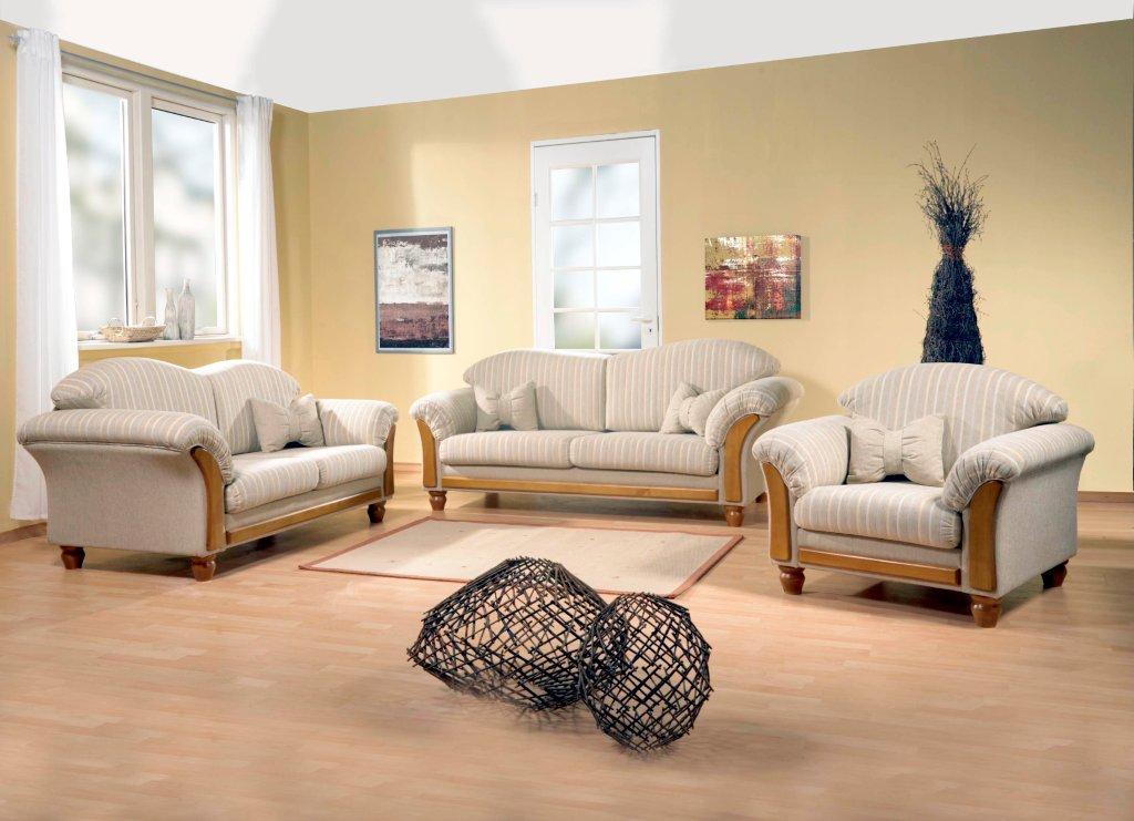 Couch Sofa Borkum Landhaus Kieferchatose  DAM 2000 Ltd