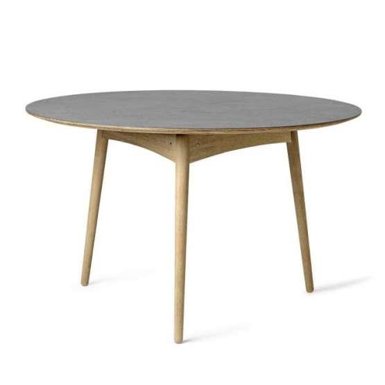 Mater Tisch rund Grey Linolium