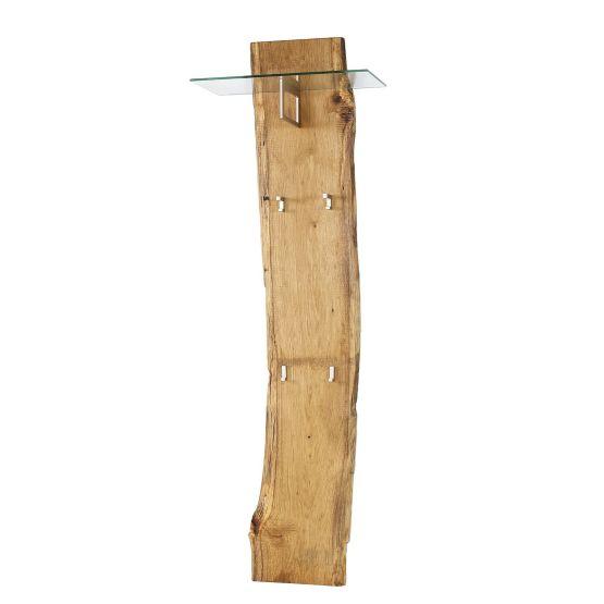 Garderobenpaneel Woodkid I - Eiche massiv