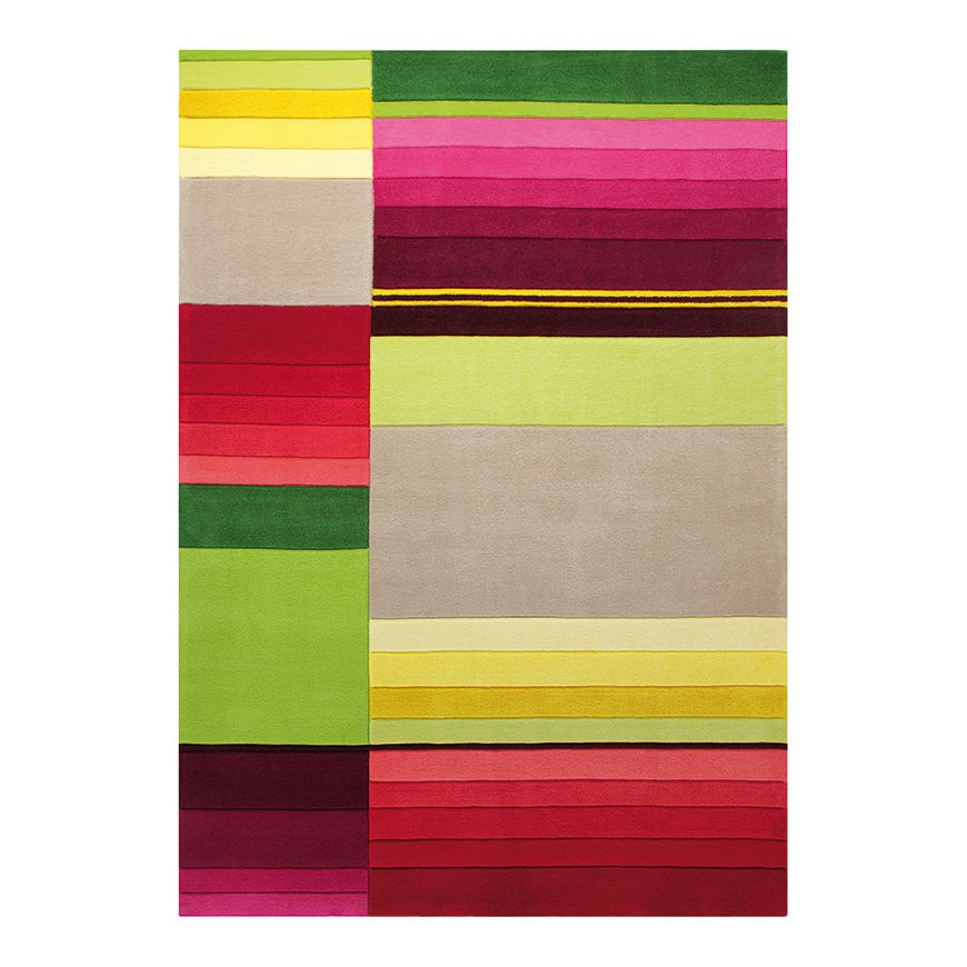 teppich block pattern multicolor ma e 90 x 160 cm esprit home moebel. Black Bedroom Furniture Sets. Home Design Ideas