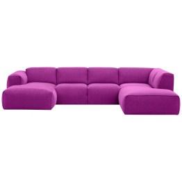 So viel Komfort muss man erst mal in einem Sofa unterbringen: Das Modell Hudson lädt schon optisch dazu ein