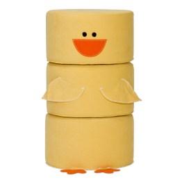 Hocker-Set Zoo Clucky wird garantiert schnell zum Lieblingsspielzeug Ihrer Kinder avancieren