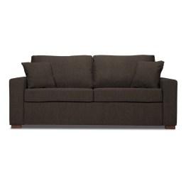 Ob erste Wohnung oder Gästezimmer: Platz hat niemand zu verschenken. 3-Sitzer-Sofa Henning nutzt den vorhandenen Raum optimal aus. Auf den zweiten Blick entpuppt sich die Dreisitzer Couch nämlich als bequemes Schlafsofa