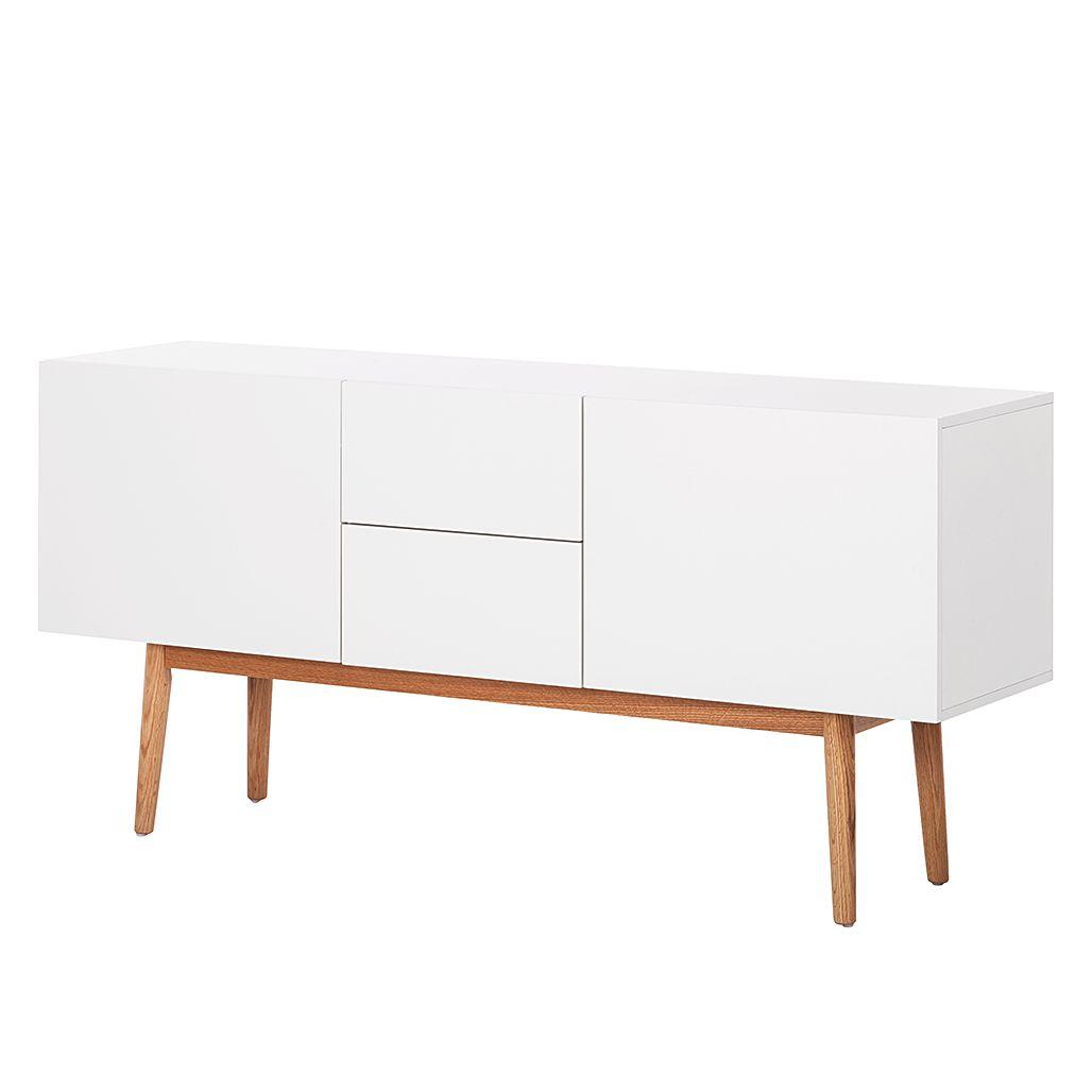 sideboard lindholm iii wei dekor eiche massiv moebel. Black Bedroom Furniture Sets. Home Design Ideas