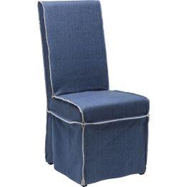 Stuhl: Sit pretty Polsterstuhl der Serie Petticoat mit lässiger Optik und praktischer