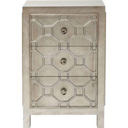 Kommode: Hommage an das Ornament Diese Kommode aus der Serie Alhambra fasziniert durch ihre maurisch inspirierte