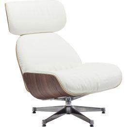 Sessel: Modern Classic Dieser feine Drehsessel ist eine zeitgemäße Interpretation eines Designklassikers aus den 1950er Jahren. Er besticht durch seine modifizierte