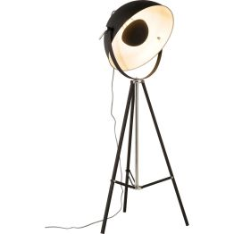 Lampe: Mattschwarze Eleganz