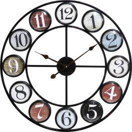 Kreisobjekt mit Zeitanzeige Eine Uhr ist von jeher eine runde Sache