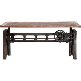 Esstisch:Da wird das Raumdesign von der Vergangenheit eingeholt Der Tisch Steamboat ist ein einzigartiges Kunststück