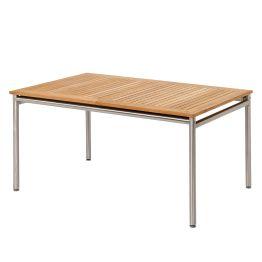 Gartentisch Murano (mit Ausziehfunktion) - Teakholz / Edelstahl