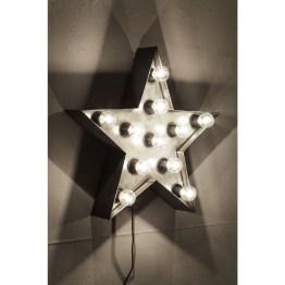 Lampe: Ein Stern aus Licht Was für ein reizvolles und zauberhaftes Lichtobjekt uns hier präsentiert wird. Ein Rahmen aus Licht