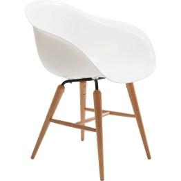 Stuhl: Klassischer Schalenstuhl in neuem Gewand Ausgangspunkt für diesen Stuhl war