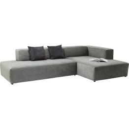 Sofa : Komfort mit Stil Großzügige Komfortzone. Komfortables Ecksofa in geradliniger Linienführung. Durch die kompakte und kubische Form fügt sich dieses Sofa in nahezu alle Interiors ein. Weitere Ausführungen erhältlich. Made in EU.