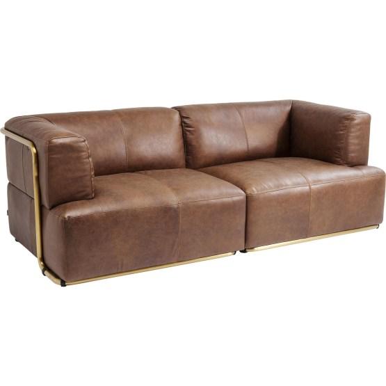 Sofa: Exklusives Lieblingsstück Die High-End Version eines Ledersofas