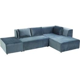 Das Leben ist hart - bis der Abend beginnt. Und auf dem samtweichen Sofa lässt es sich besonders gut entspannen. Ob für Freunde