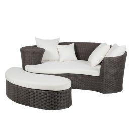 Lounge-Set Paradise Lounge (2-teilig) - Polyrattan - Grau