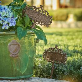 Garten-Ornament 2er Set Basseux