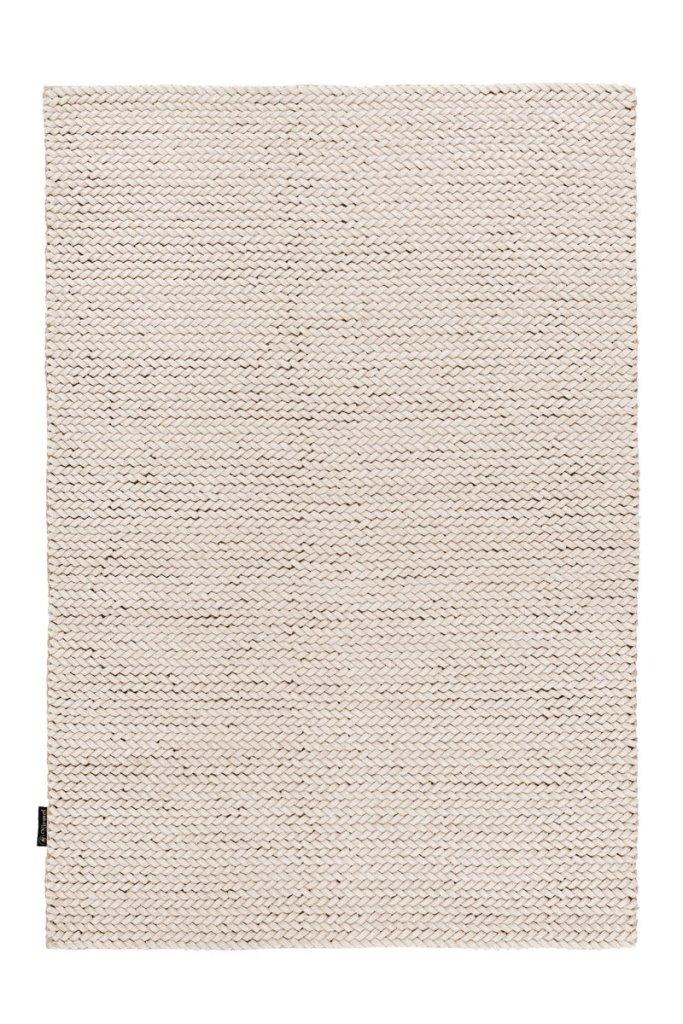 Wollteppich Neuseelandwolle Beige