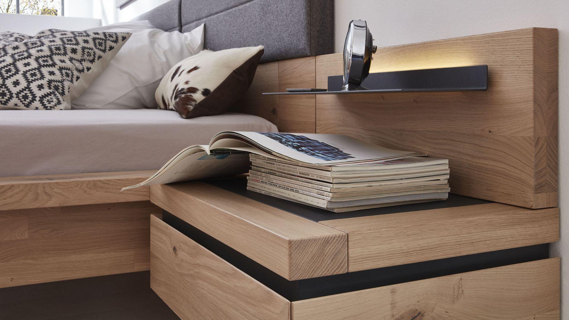 Interliving Schlafzimmer Serie 1005 Bett  modern  gnstig  Mbel Schaumann