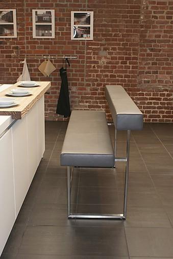 Kchengert Permesso Moderne Sitzbank in Leder GirsbergerMbel von Lievenbrck bulthaup Kchen