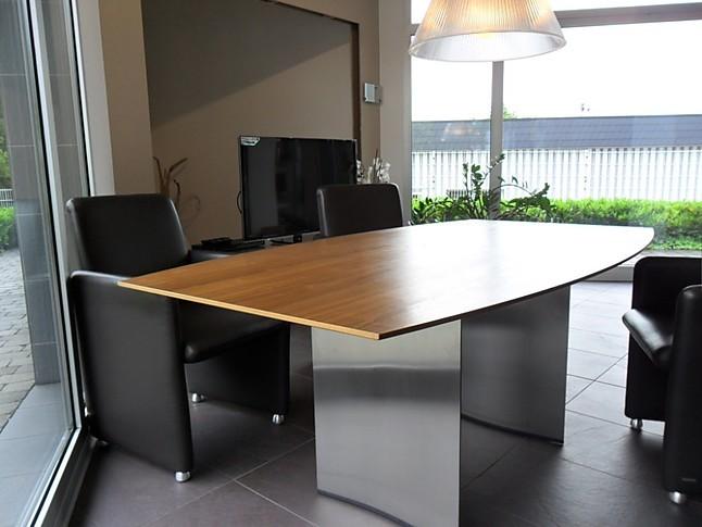 Sthle Esstischgruppe K2 Today mit 4 LederSesseln Barcelo AT V1 Koinor Esstisch mit 4 Leder