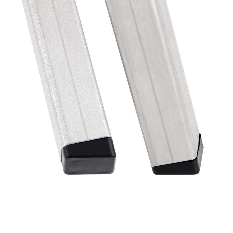 Kunststoff Stuhlgleiter Stopfen für schräge eckige Rohre ...